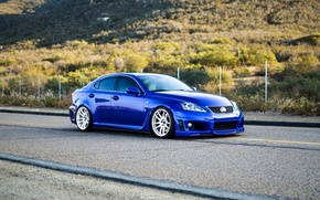 Picture Lexus, road, blue