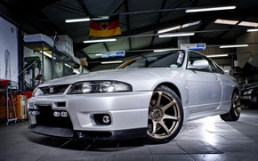 Picture Nissan, GT-R, Skyline, Garage, R33