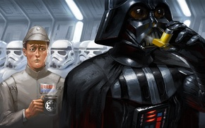 Picture situation, star wars, star wars, darth, vader, situations, asthma, inhaler
