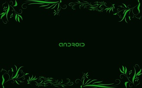 Picture green, Android, android