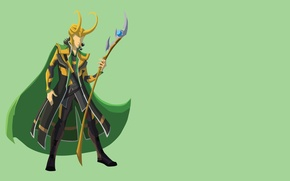 Picture Marvel, Avengers, Loki, god
