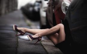 Picture auto, shoes, legs, Laurent KC