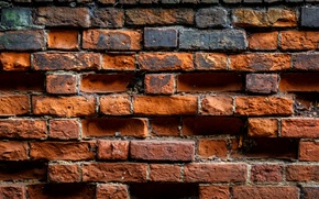 Picture background, wall, color, bricks