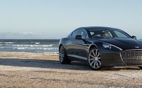 Picture Rapide, Aston, Martin, Sea