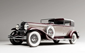 Picture background, coupe, Coupe, 1930, Duesenberg, dusenberg