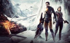 Picture Half-life, Gordon Freeman, Valve, Alyx Vance