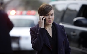 Picture actress, phone, the series, agent, character, The FBI, NBC, TV show, Blacklist, The Blacklist, Elizabeth …