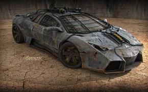 Picture auto, armor, sports car, lamborghini, car, fan art
