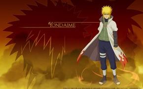 Picture guy, Naruto, Naruto, Minato, Namikaze, 4 Hokage anime
