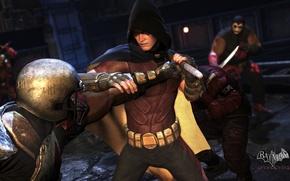 Picture Batman, Arkham City, Robin
