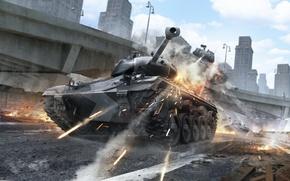Picture WoT, World of Tanks, World Of Tanks, Wargaming Net, Tank Race, Chaffee SPORT