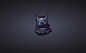 Picture minimalism, Batman, Batman, comic, dark blue