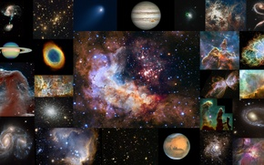 Picture space, stars, nebula, star formation, Hubble