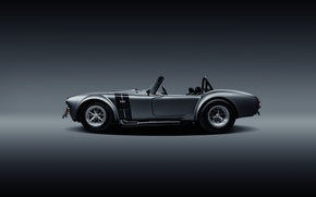 Picture Shelby, Muscle, Car, Cobra, Side, Silver, SS Customs