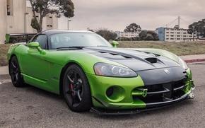 Picture green, viper, dodge, acr
