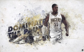 Picture Sport, Basketball, Indiana, NBA, Pacers, Indiana, Pacers, Roy Hibbert, Roy Hibbert