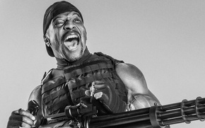Picture machine gun, the expendables, the expendables 3, terry crews