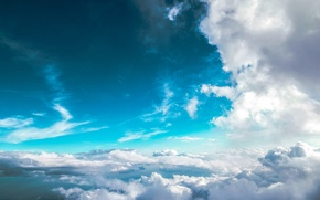 Picture the sky, clouds, sky