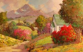 Picture art, Sean Wallis, Beautiful Valley
