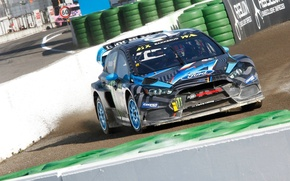 Picture Ford, Ford, Fiesta, The front, RallyCross, GRC