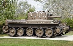 "Picture war, tank, average, cruising, period, world, Second, Cromwell IV, ""Cromwell"""
