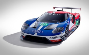 Picture car, Ford, Race, Sport, Race Car, Track, Vehicle, 2016, Ford GT Race Car 2016, Ford …