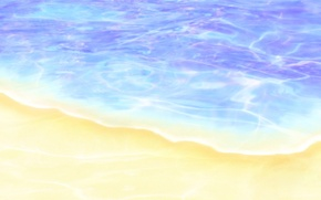 Wallpaper water, figure, shore