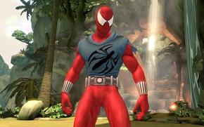 Picture Spider-man, Spiderman, Shattered, Scarlet Spider, Dimensions
