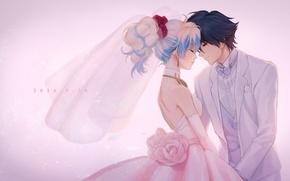 Picture girl, romance, anime, art, guy, two, FRT, Distributed By Mattel And Nintendo Violence Gurren-Lagann