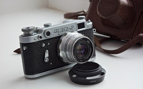 Picture macro, background, camera, FED-2