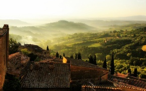 Picture Home, Fog, Valley