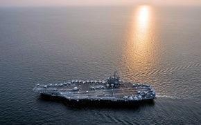 Picture weapons, army, USA, Navy, USS Ronald Reagan (CVN 76)