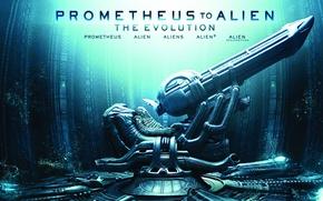 Picture ship, chair, alien, alien, ship, prometheus, space jockey