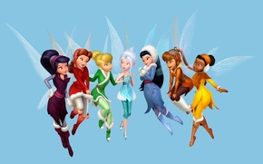 Picture Fairies, Disney, Tinkerbell, Tinker Bell, Tinker Bell and the Secret of The Wings, Secret of …