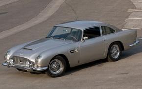Picture Aston Martin, classic, 1963, DB5, bond's car