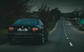 Picture BMW, Sedan, Black, E39