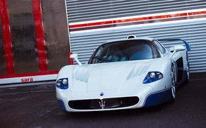 Picture Maserati, Car, Before, White, MC 12