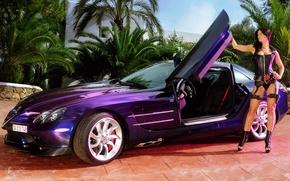 Picture karset, beauty, car, veronica zemanova