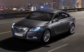 Wallpaper night, Insignia, Opel