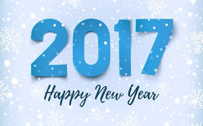 Picture figures, New year, New Year, 2017