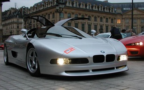 Picture car, bmw, concept, nazca