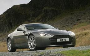 Wallpaper Aston Martin, Vantage
