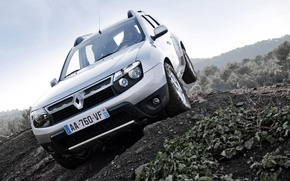 Picture dirt, Renault, Reno, crossover, Duster, duster, compact