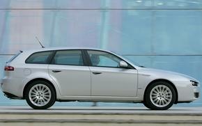 Picture Alfa Romeo, Silver, Alfa Romeo Wallpaper, Alfa Sportwagon, Sportwagon, Alfa Romeo 159 Wallpaper, Alfa Romeo …