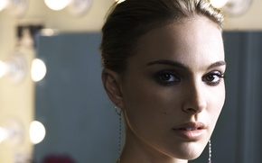 Picture girl, Natalie Portman, black swan, beautiful eyes