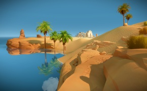 Picture game, desert, adventure, Witness