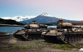Picture Tank, World of tanks, World of Tanks, Japanese, WOT, Type 61