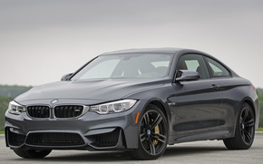 Picture bmw, coupe, gray