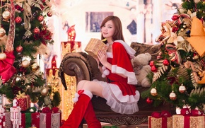 Picture girl, gifts, Asian