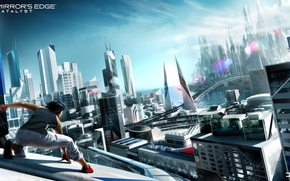 Picture Electronic Arts, DICE, Faith, Mirror's Edge: Catalyst